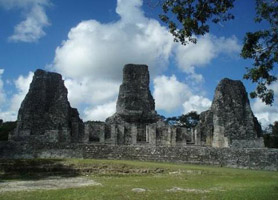 campeche archaeological ruins xpujil
