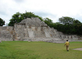 campeche archaeological temple del norte