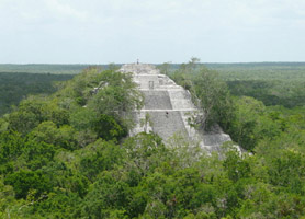 campeche calakmul archaeological sites