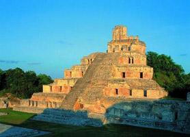 campeche mayan site edzna