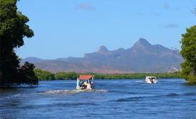 mexico campeche Laguna de Pargos