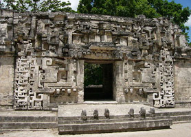 campeche archaeological ruins chicanna